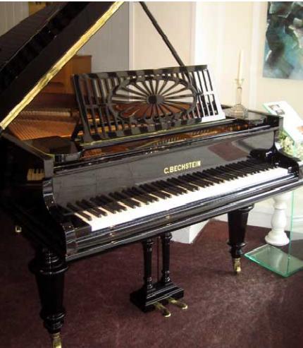 Pianoforte a coda C.Bechstein Berlin del 1899.